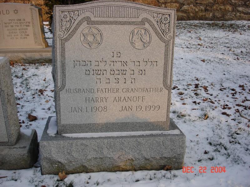 Cemetery - Kehillat Israel History